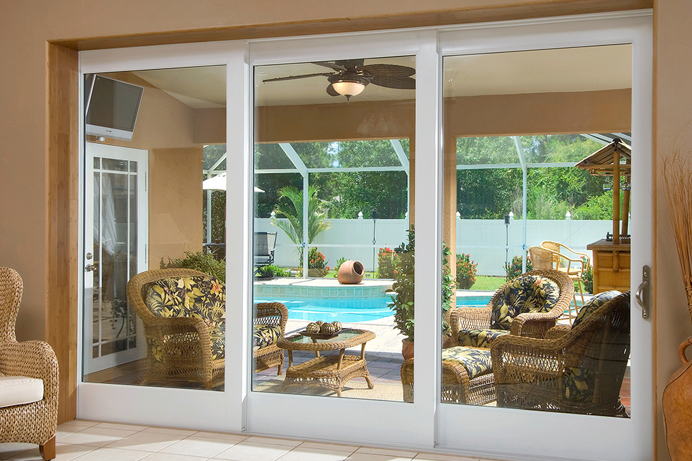 Product images pgt industries custom aluminum vinyl for Pgt vinyl sliding glass doors