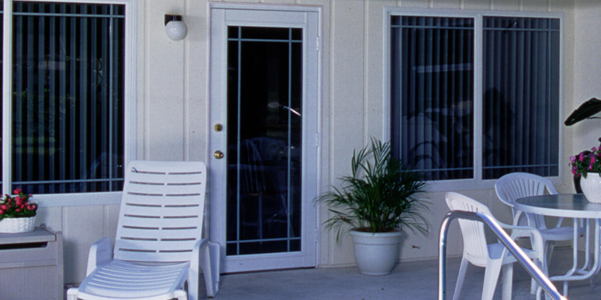 Cabana door cd290 classicvue cabana door tempered doors for Pgt vinyl sliding glass doors