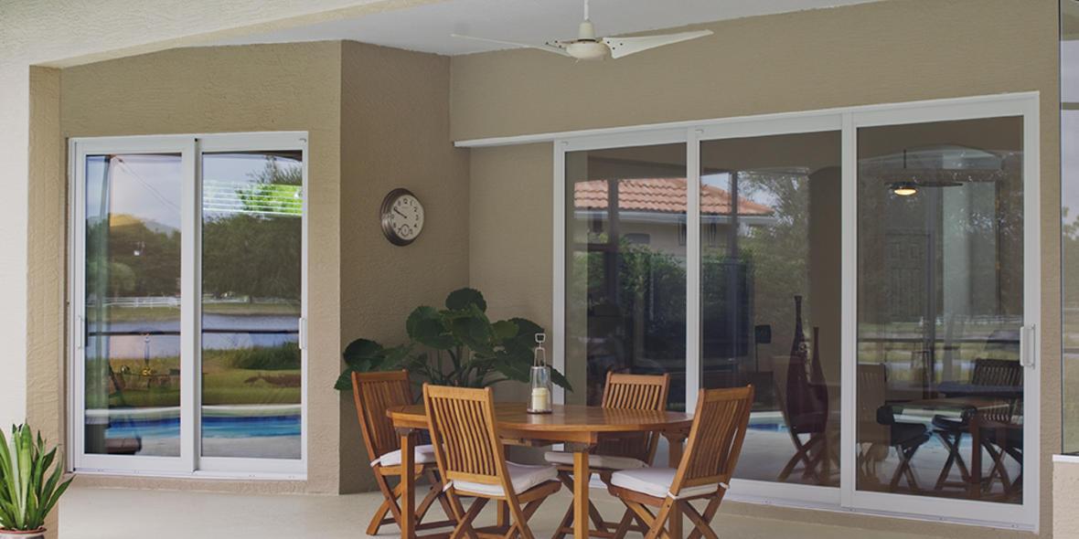 3 Panel Sliding Patio Door Cost Sliding Door Designs