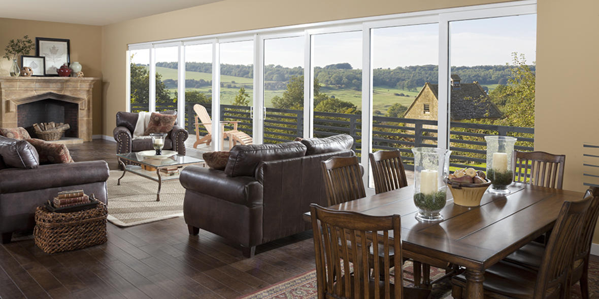 1000 images about bringing outdoors in on pinterest for Pgt vinyl sliding glass doors
