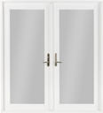 Preferred french door fd5555 new winguard vinyl french for Preferred windows and doors
